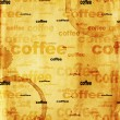 Photo: Paper texture with drops of coffee
