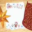 Letter to Santa Claus — Stock Photo #4304750