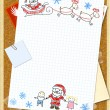 Royalty-Free Stock Photo: Letter to Santa Claus