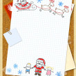 Letter to Santa Claus — Stock Photo #4304784