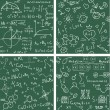 Royalty-Free Stock Vectorielle: Education. Seamless vector backgrounds
