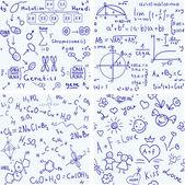 Eğitim. dikişsiz vektör arka planlar — Stok Vektör