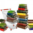 Buying of books — Stock Photo