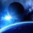 Space flare — Stock Photo #4750854