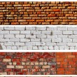 Royalty-Free Stock Photo: Brick banners