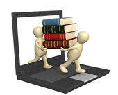 Books online — Stock Photo