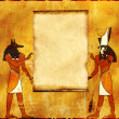 Stock Photo: anubis and horus