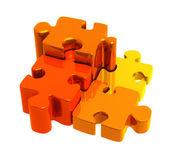 Puzzle — Stok fotoğraf