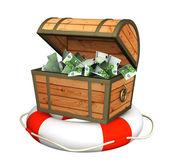 Help at financial crisis — Stock Photo