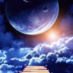 Space scene — Stock Photo