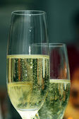 Champagne and Bubbles — Stock Photo