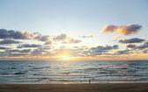 Sol y mar. — Foto de Stock