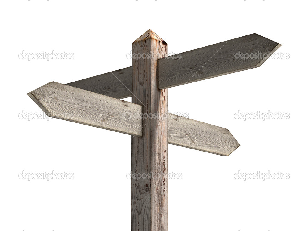 The gallery for --> Blank Wooden Sign Post