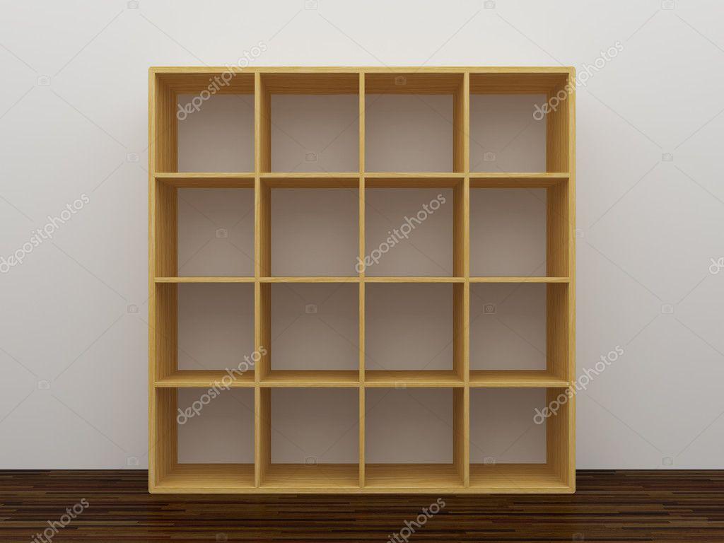 Empty Bookshelf Stock Photo Shenki 4172685