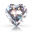 Diamond heart — Stock Photo #4726839