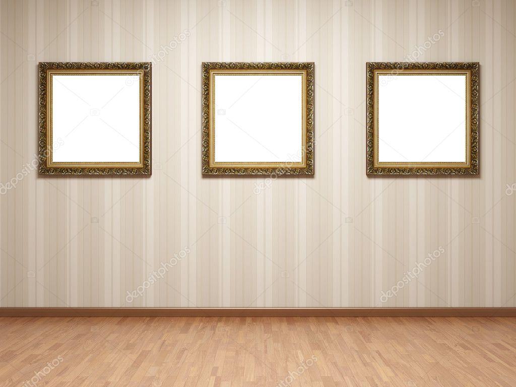 empty room frames stock photo shenki 4726852
