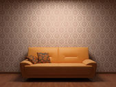 Sofa in rest room — Stock Photo