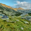 Stock Photo: Camping in Pirin mountains, Greece, HDR