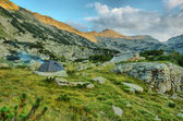 Camping in the Pirin mountains, Greece, HDR — Stock Photo