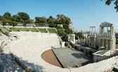 プロブディフ、ブルガリアの古代の円形劇場の遺跡 — ストック写真