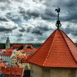View of Old Regensburg ,Bavaria,Germany,Unesco heritage,HDR - Stock Photo