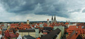 Panorama of old Regensburg ,Bavaria,Germany,Unesco heritage — Stock Photo