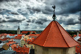 View of Old Regensburg ,Bavaria,Germany,Unesco heritage,HDR — Stock Photo