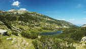 Panorama of Pirin National Park, bulgarian unesco heritage, moun — Stock Photo