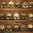 Monks skulls at Meteora monastery,Greece — Stock Photo