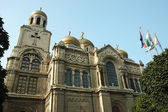 Dormition of the Theotokos Cathedral in Varna, Bulgaria — Stock Photo