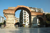 Arch of Galerius in Thessaloniki, Greece, unesco heritage site — Stock Photo