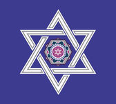Jewish star design - vector illustration — 图库矢量图片