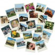 Stock Photo: Go Bulgari- background with travel photos of famous landmarks