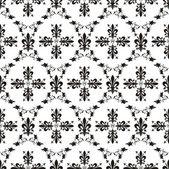 Seamless victorian royal vector texture with fleur-de-lis — Stock Vector