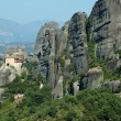 Meteora Agios Nikolaos Anapafsas rock monastery,Greece. Meteora - Stok fotoraf
