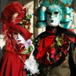 Stock Photo: Masks at St. Mark's Square,Venice carnival,Italy