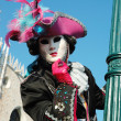 Stock Photo: Mask at St. Mark's Square,Venice carnival,Italy