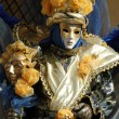 Stock Photo: Mask at Carnival of Venice,Italy,2011