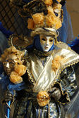 Mask at Carnival of Venice,Italy,2011 — Stock Photo
