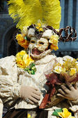 Mask at Venice carnival,Italy,2011 — Stock Photo