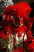 Casanova mask at Carnival of Venice 2011 — Stock Photo