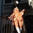 Stock Photo: Casanovcostume at Venice carnival