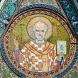 Stock Photo: Saint Nicholas icon in church - patron of seafarers