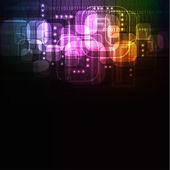 светящийся абстрактный фон, формат ai 10 — Cтоковый вектор