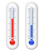 Outdoor Thermometer — Stock Vector