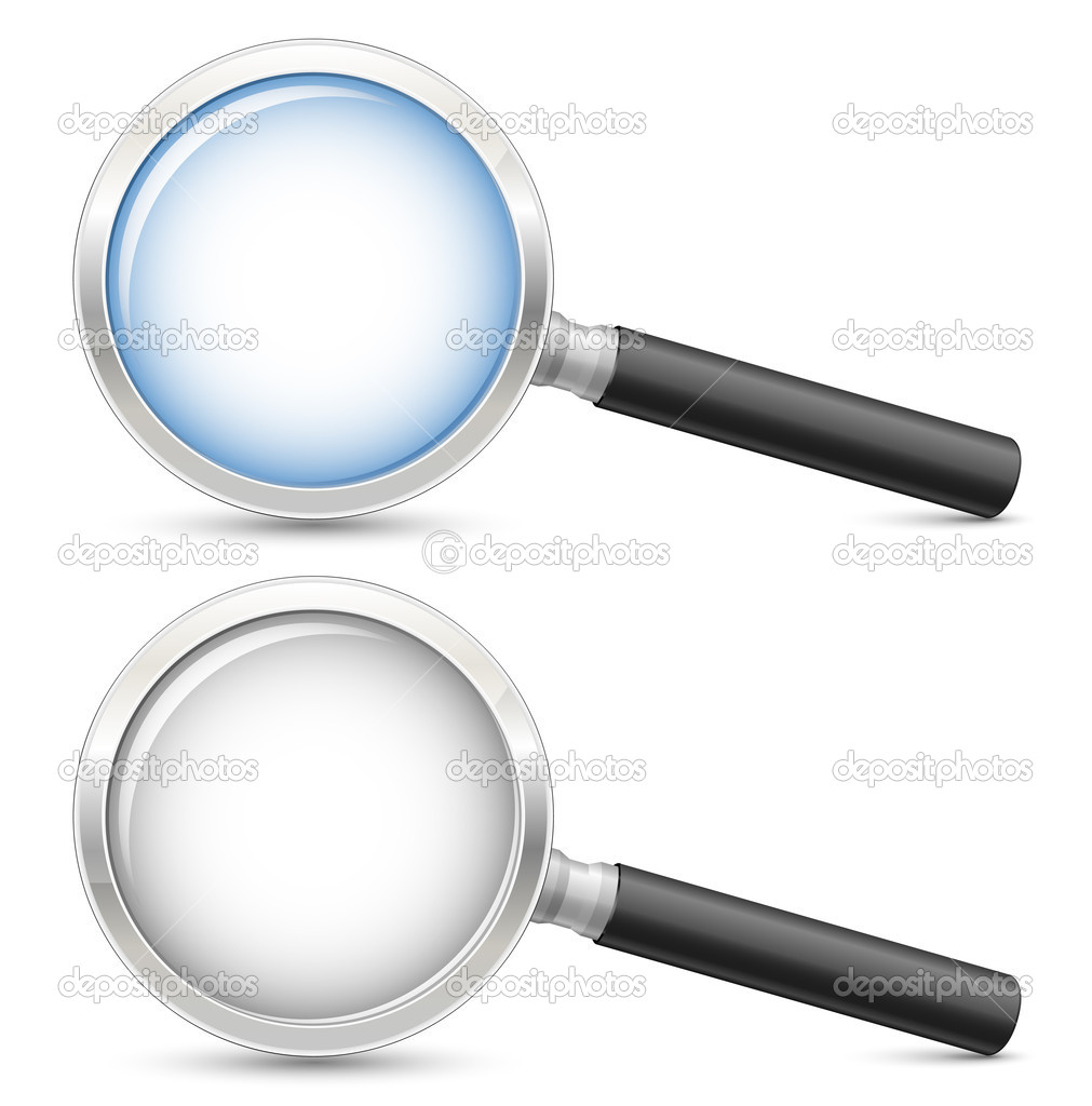 Magnifying glass. Highly detailed realistic vector illustration  Stock Vector #5127905