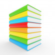Royalty-Free Stock Photo: Colorful books stack