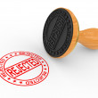Royalty-Free Stock Photo: Rubber Stamp - rejected