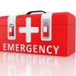 First aid kit — Stock Photo #4259227
