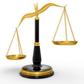 Classic scales of justice — Stock Photo